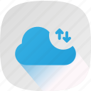 cloud, internet, share, upload icon
