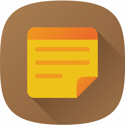 apps, list, note, samsong icon