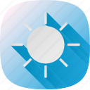 clouds, cloudy, cold, snow, storm, thermometer, weather icon