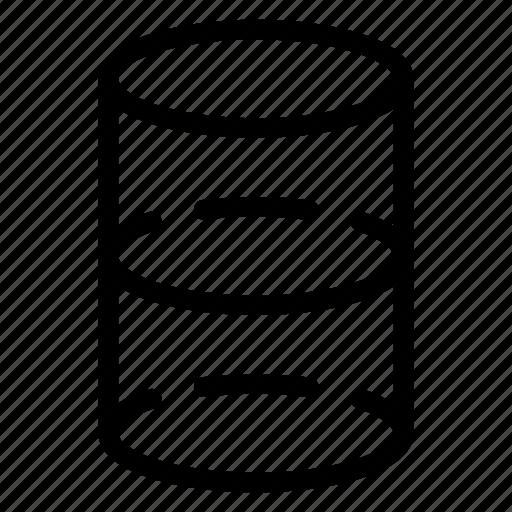 barrel, container, drum, fuel, gasoline, tank icon