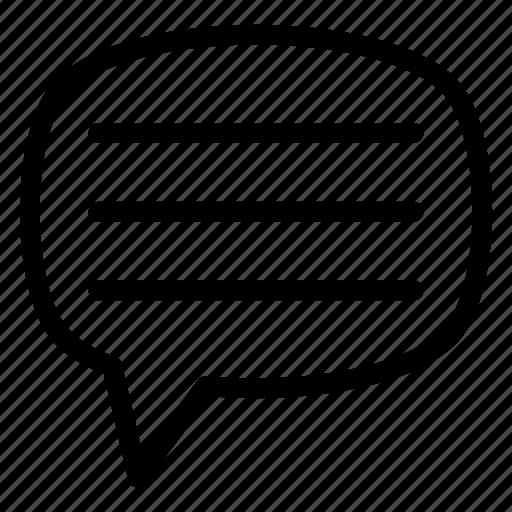 chat, communication, conversation, dialogue, message, talk icon