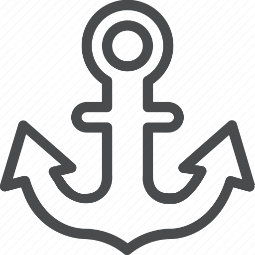 anchor, ocean, sail, sailor icon