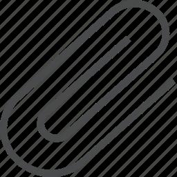 attachment, paperclip icon