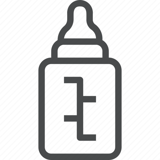baby, bottle icon