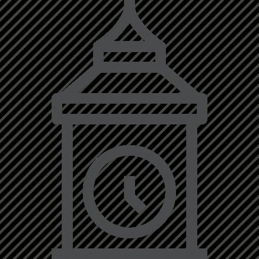 ben, big, building, clock, london icon
