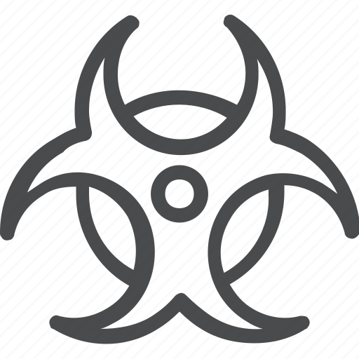 biohazard, chemical, hazardous icon