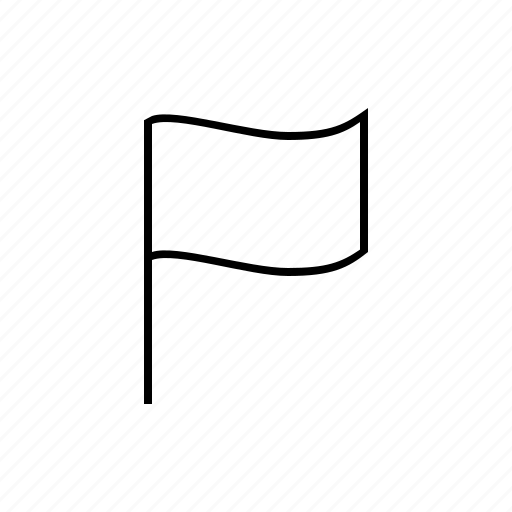 flag, mark, marker icon