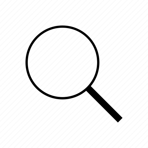 glass, magnifier, magnifying glass, research, search, zoom icon