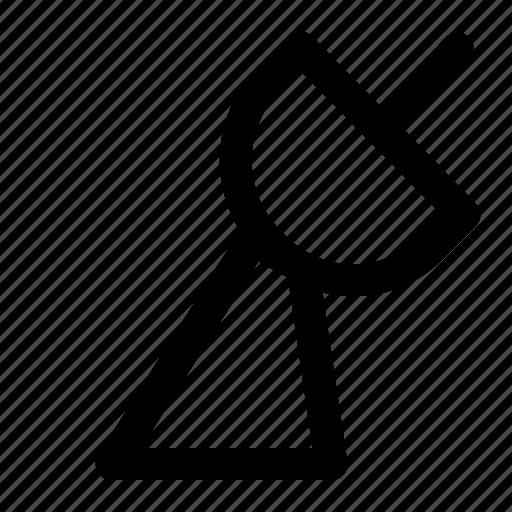 parabola, signal, space icon