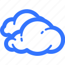 cloud, cloudy, forecast, overcast, weather icon