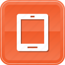 appliance, communication, electronics, hand, ipad, tablet, technology icon