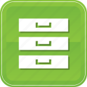 archive, archives, database, files, hosting, server, storage icon