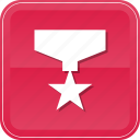 award, medal, prize, ribbon, star, winner icon