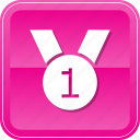 award, medal, prize, ribbon, winner icon
