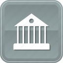 bank, building, estate, government, house, panteon, real icon