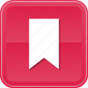 bookmark, favorite, ribbon, vertical icon