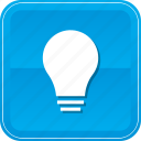 bright, bulb, idea, lightbulb, solution icon