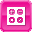 business, calculate, calculation, calculator, education, math icon