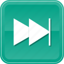 chapter, controls, forward, music, next, play, video icon