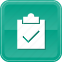 check, clipboard, list, ok, select, success, tasks icon