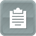 business, checking, clipboard, document, report, tasks, verification icon