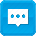 bubble, comment, message, negotiate, speech, talk icon