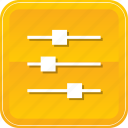 control, options, preferences, properties, settings icon