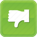 dislike, down, thumb, thumbs, vote icon