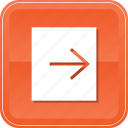 archive, exit, export, out, outside, send, sending icon