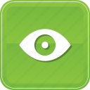 enable, eye, view, views, watch icon