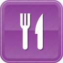 food, fork, kitchen, knife, meanns, restaurant icon