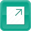 expand, full, orientation, screen icon