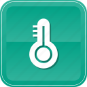 celcius, degree, heat, mercury, temperature, thermometer, warm icon