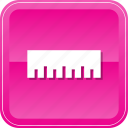 design, education, graphic, measure, measuring, ruler, scale icon