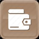 billfold, finance, money, saving, shop, wallet icon