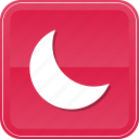 astronomy, moon, nature, night, phase, sleep icon