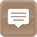bubble, chat, chatting, comment, conversation, inbox, message icon