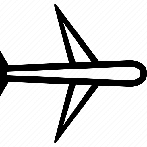 airplane, plane, transport, transportation, travel icon