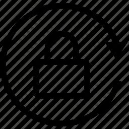 lock, orientation, rotate icon