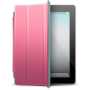 ipad, pink, cover