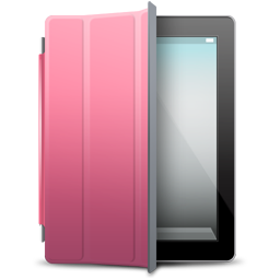 cover, ipad, pink icon