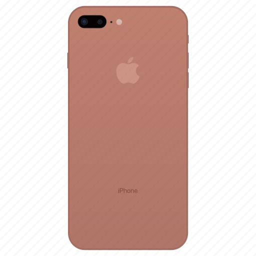 apple, blush, gold, iphone, iphone 7s, iphone x, phone icon