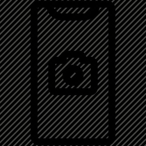 camera, iphone camera, iphone x, selfi icon
