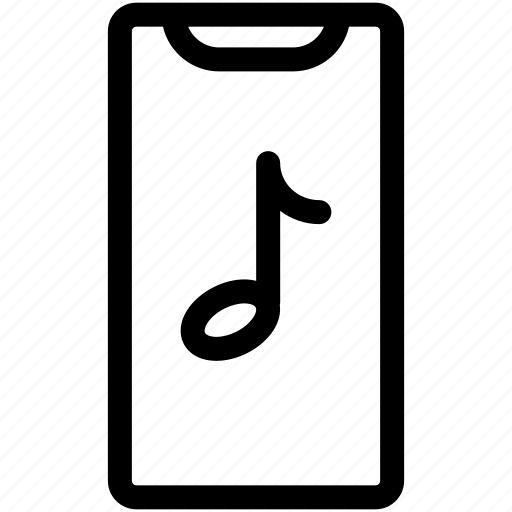 iphone x, itunes, music, music note icon