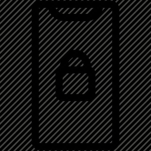 Iphone Locked, Iphone X, Locked, Padlock, Padlock Locked