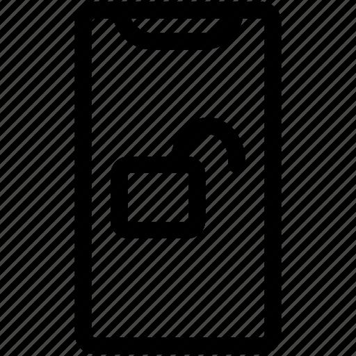 Face Id, Iphone, Iphone X, Padlock, Padlock Unlocked