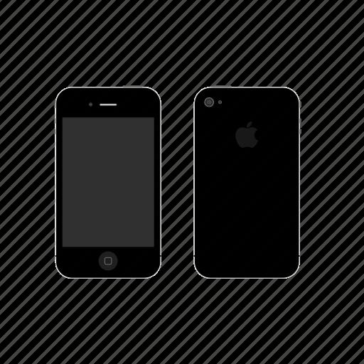 apple, iphone4 icon
