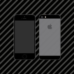 apple, iphone, iphone 5s icon