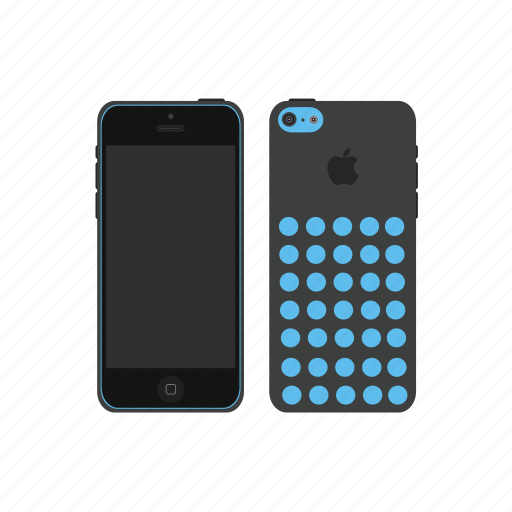 apple, iphone, iphone 5c icon