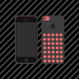 apple, iphone, iphone 5c icon